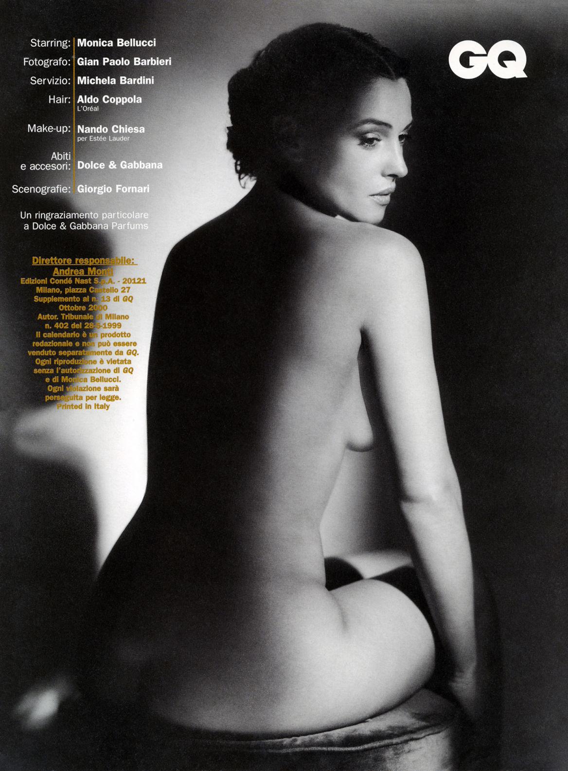 Bellucci Calendario.Mostra Eleganza E Passione Gian Paolo Barbieri