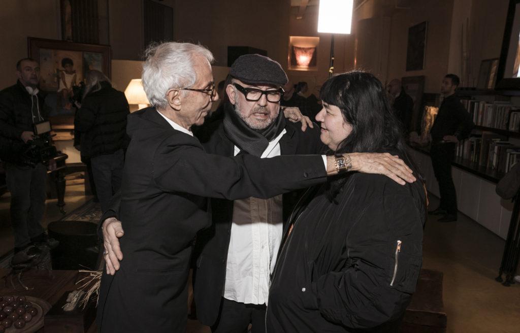 Gian Paolo Barbieri, Oliviero Leti, Ivana Spernicelli
