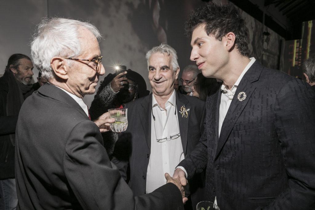 Gian Paolo Barbieri, Nikolaus Velissiotis, Stelios Stiglianidis