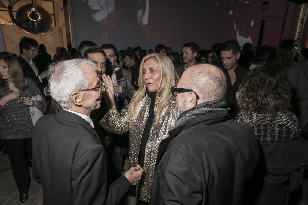 Gian Paolo Barbieri, Mara Venier, Oliviero Leti