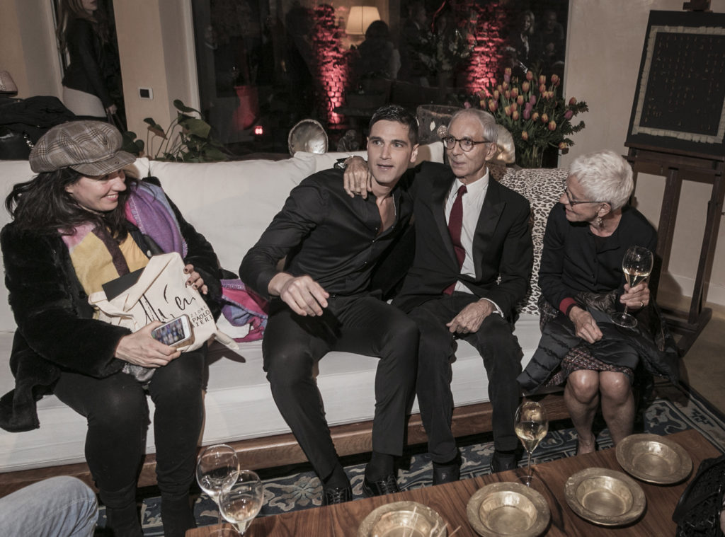 Fabio Mancini, Gian Paolo Barbieri, Milka Pogliani