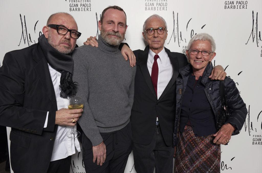 Oliviero Leti, Vincenzo Castaldo, Gian Paolo Barbieri, Milka Pogliani