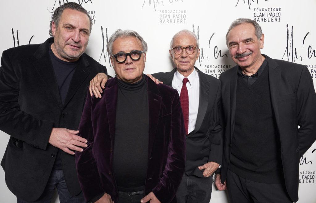 Maurizio Galimberti, Giuseppe Zanotti, Gian Paolo Barbieri
