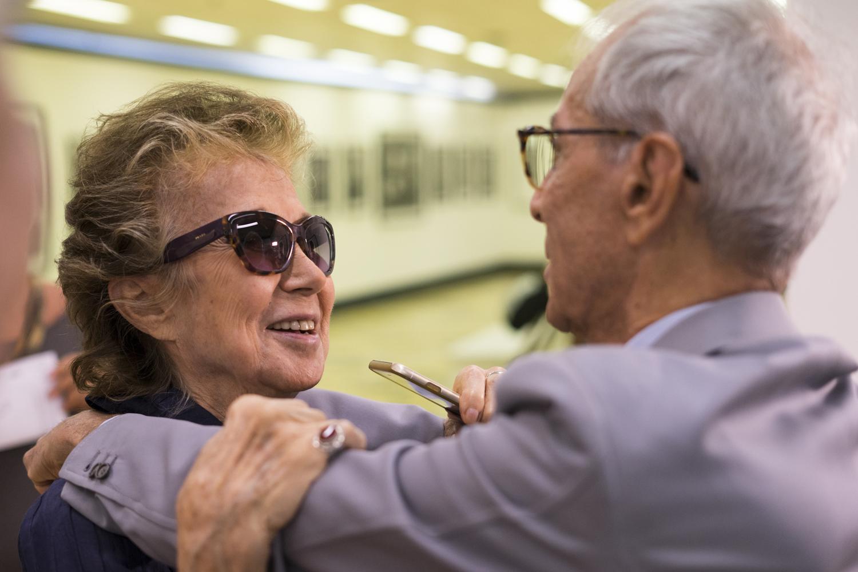 Giovanna Borletti e Gian Paolo Barbieri