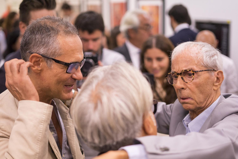 Mauro Mori, Gian Paolo Barbieri e Giuseppe Zanotti