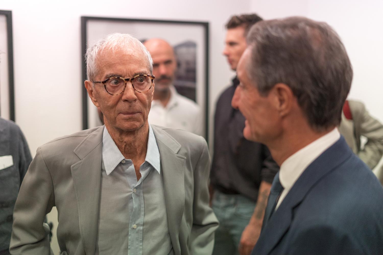 Gian Paolo Barbieri e Attilio Fontana
