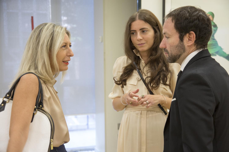 Marta Menegon, Giulia Manca ed Emmanuele Randazzo
