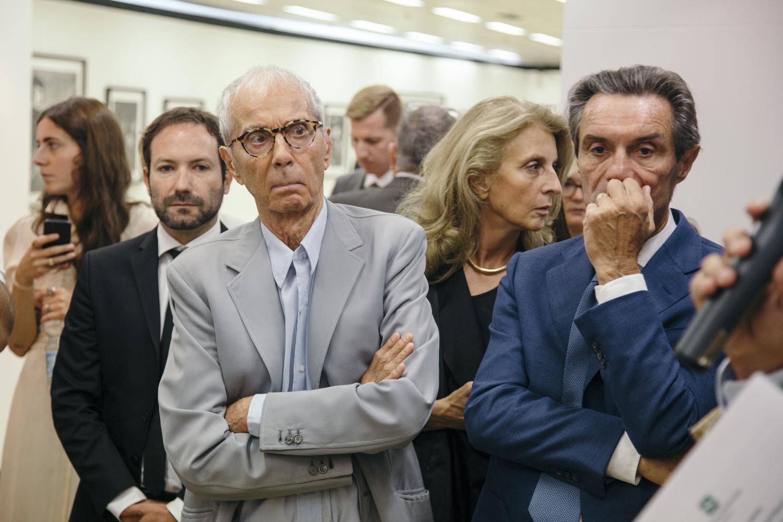 Emmanuele Randazzo, Gian Paolo Barbieri, Martina Corgnati, Attilio Fontana