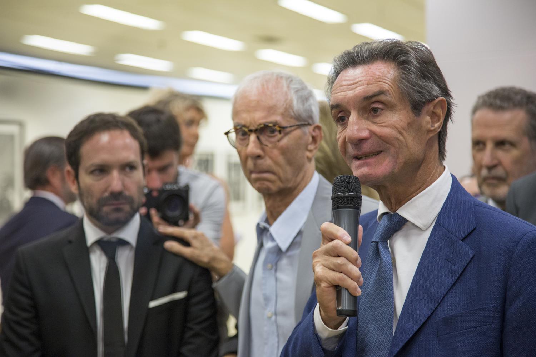 Emmanuele Randazzo, Gian Paolo Barbieri, Attilio Fontana