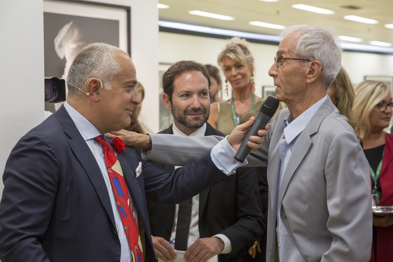 Antonello Grimaldi, Emmnauele Randazzo e Gian Paolo Barbieri