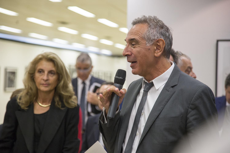 Martina Corgnati e Carlo Capasa