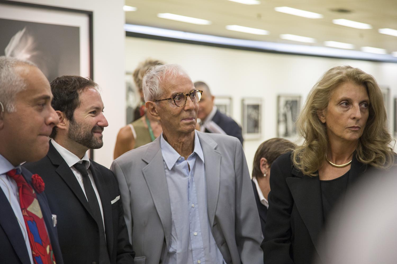 Emmanuele Randazzo, Gian Paolo Barbieri e Martina Corgnati