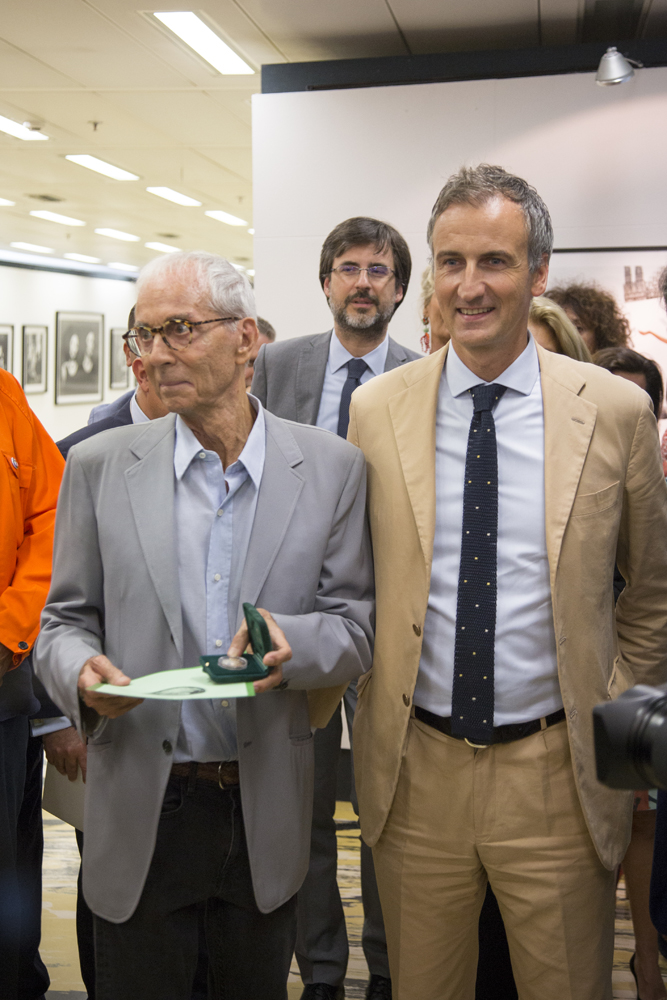 Gian Paolo Barbieri e Alessandro Fermi