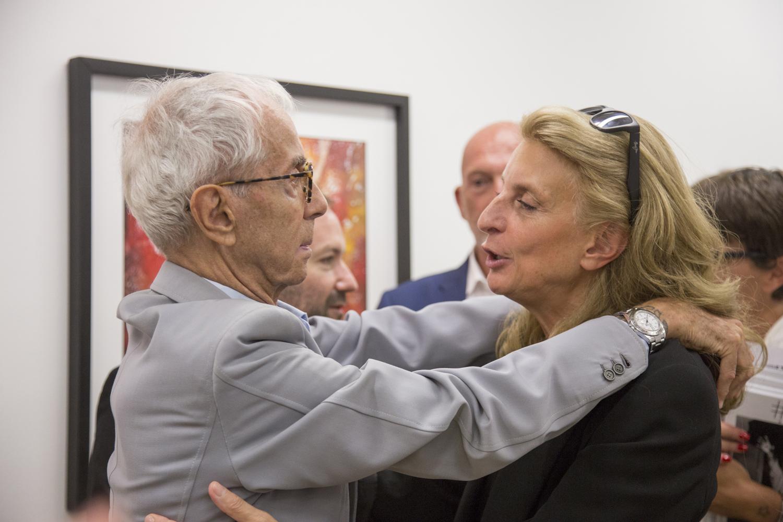 Gian Paolo Barbieri e Martina Corgnati